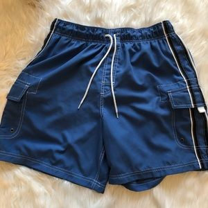 Roundtree & Yorke swim trunks size medium blue